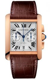 Replica Cartier Tank MC Rose Gold Chronograph W5330005