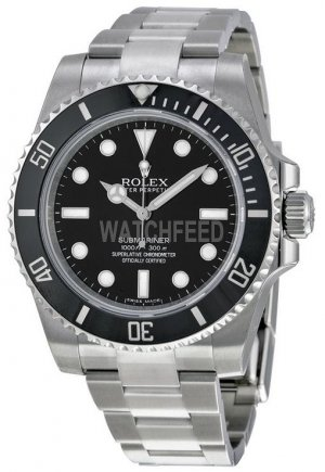 Replica Rolex Submariner Black Dial Stainless Steel 114060