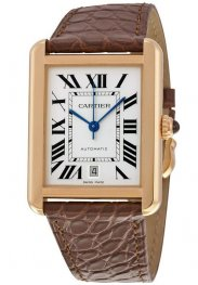 Replica Cartier Tank Solo XL Rose Gold Men's Watch W5200026