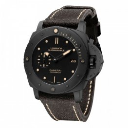Panerai Luminor Submersible Black Dial Ceramic Replica Watch PAM00508