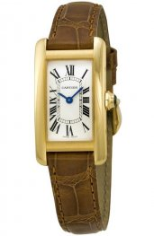 Replica Cartier Tank Americaine Yellow Gold Ladies Watch W2601556