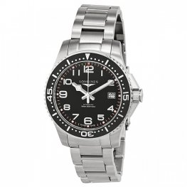 Longines HydroConquest Black Dial Replica Watch