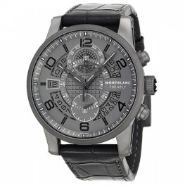 Montblanc Timewalker TMW Titanium Flyback Replica Watch 107338