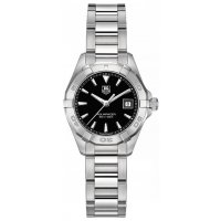 TAG Heuer Aquaracer Round Silvertone Bracelet Ladies Replica Watch WAY1410.BA0920