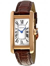 Replica Cartier Tank Americaine Rose Gold Ladies Watch W2607456