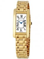 Replica Cartier Tank Americaine Yellow Gold Watch W26015K2