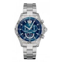 TAG Heuer Aquaracer Blue Dial Chronograph Grande Date Replica Watch CAF101C.BA0821