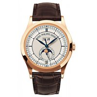 Patek Philippe Complications Annual Calendar 18kt Rose Gold Replica Watch 5396R