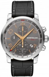 Replica MontBlanc Timewalker UTC Grey Dial Automatic Chronograph 107063