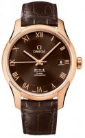 Replica Omega De Ville Chronometer Brown Dial 431.53.41.21.13.001