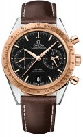 Replica Omega Speedmaster 57 Chronograph Steel and Rose Gold 331.22.42.51.01.001