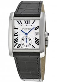 Replica Cartier Tank MC Silver Dial Men's Watch W5330003
