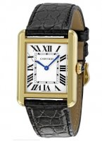Replica Cartier Tank Solo Small Yellow Gold Ladies Watch W5200002