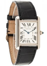 Replica Cartier Tank Louis White Gold Men's Watch W1541056