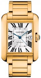 Replica Cartier Tank Anglaise XL Yellow Gold Men's Watch W5310018