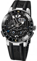 Replica Ulysse Nardin El Toro White Gold Black Rubber 320-00-3