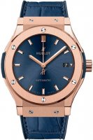 Replica Hublot Classic Fusion Blue Dial Rose Gold 511.OX.7180.LR