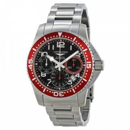 Longines HydroConquest Chronograph Black Dial Replica Watch