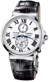 Replica Ulysse Nardin Marine Chronometer 43mm White Dial 263-67/40