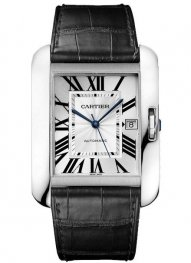 Replica Cartier Tank Anglaise XL White Gold Watch W5310033