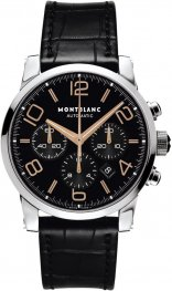 Replica MontBlanc Timewalker Chronograph Automatic Black Dial 101548