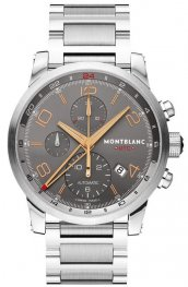 Replica MontBlanc Timewalker Chronovoyager UTC Steel Chronograph 107303