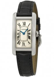 Replica Cartier Tank Americaine White Gold Ladies Watch W2601956