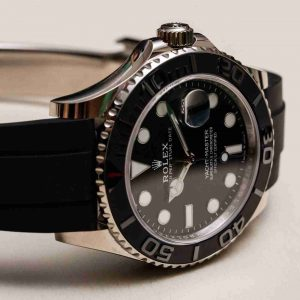 Replica Rolex Yacht-Master White Gold Black Ceramic 42 Watch Review