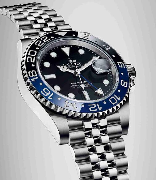 Replica Rolex Oyster Perpetual GMT-Master II Black Dial 40mm Watches For Christmas