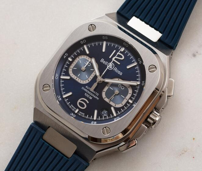 Buying Guide of New Replica Bell & Ross BR 05 Automatic Chronograph Steel Watches 1