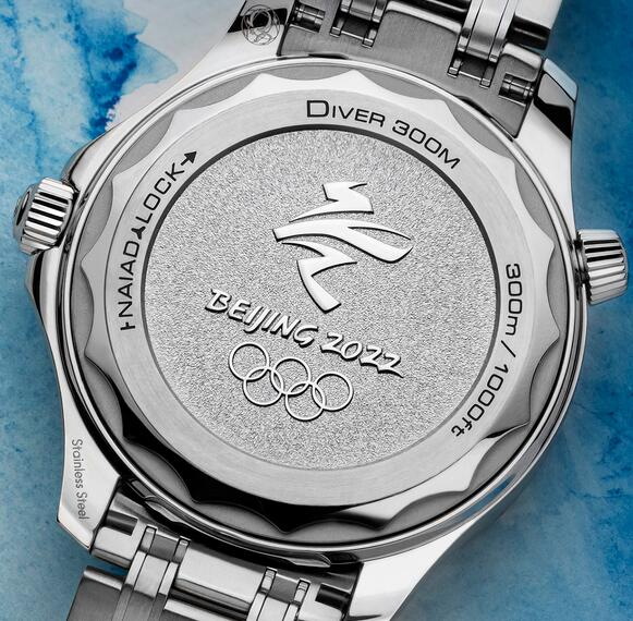 Replica Omega Seamaster Diver 300M Beijing 2022 Special Edition Watch Review 2