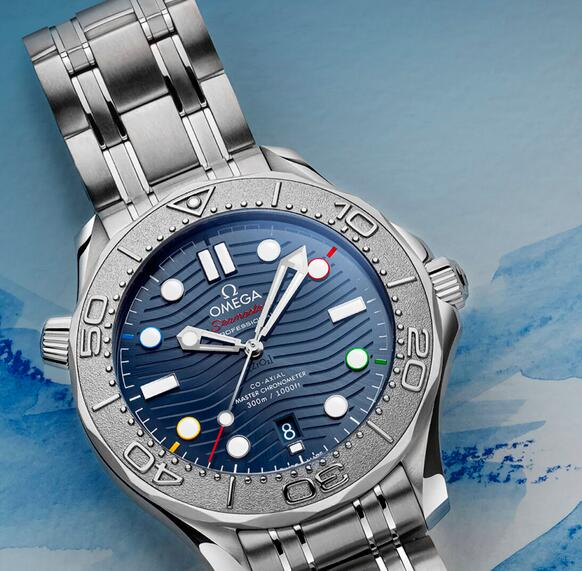 Replica Omega Seamaster Diver 300M Beijing 2022 Special Edition Watch Review 3