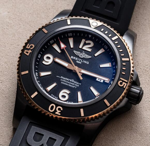 Buying Guide of Replica Breitling Superocean Automatic 46 Black Watches 2