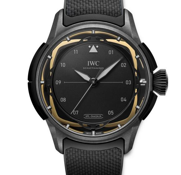 Limited Edition Replica IWC Big Pilot's Watch Shock Absorber XPL Ceratanium 44mm Review 1
