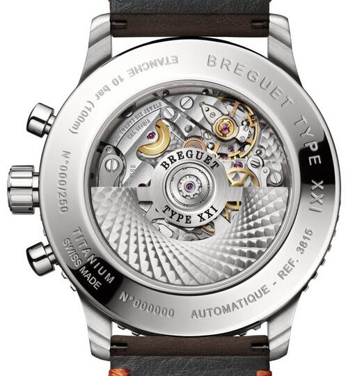 Limited Edition Replica Breguet Type XXI 3815 Chronograph Titanium 42mm Watch Review 2
