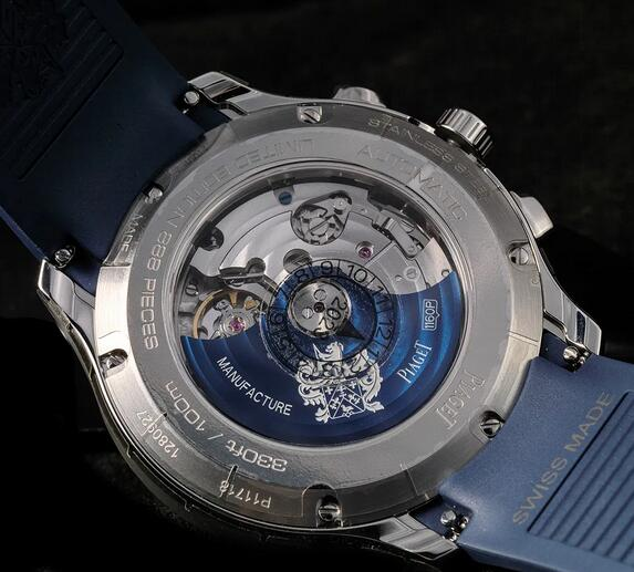 Limited Edition Replica Piaget Polo Chronograph Panda Dial Steel 42mm Watches Review 1