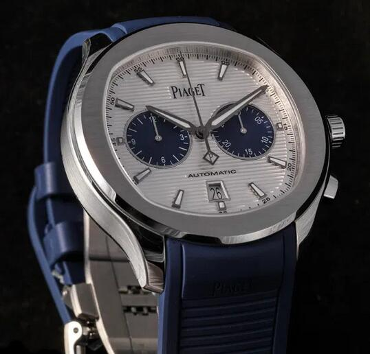 Limited Edition Replica Piaget Polo Chronograph Panda Dial Steel 42mm Watches Review 2