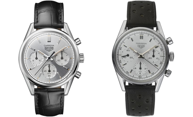 TAG Heuer Carrera 160 Years Silver Dial Limited Edition Steel 39mm Chronograph Replica
