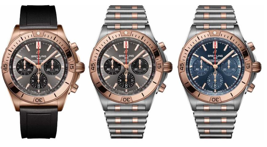 Replica Breitling Chronomat 18k Red Gold Stainless Steel 42mm Chronograph Watches Discussion