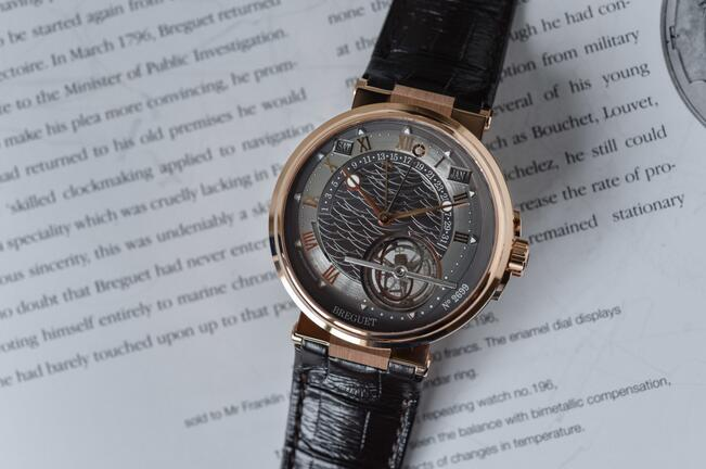 Replica Breguet Marine Tourbillon Automatic Equation Marchante 18K Rose Gold 5887BR/G2/9WV Watch Buying Guide