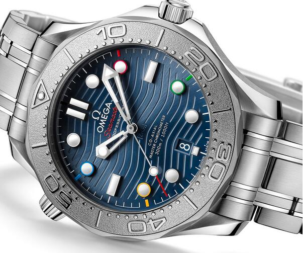 Replica Omega Seamaster Diver 300M Beijing 2022 Special Edition Watch Review 1