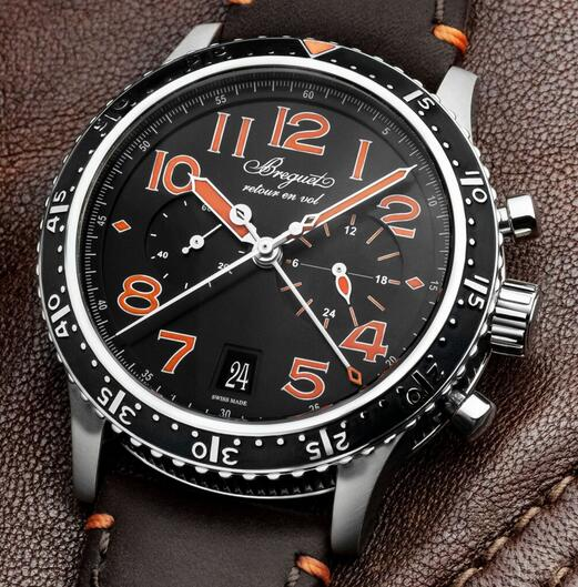 Limited Edition Replica Breguet Type XXI 3815 Chronograph Titanium 42mm Watch Review 1