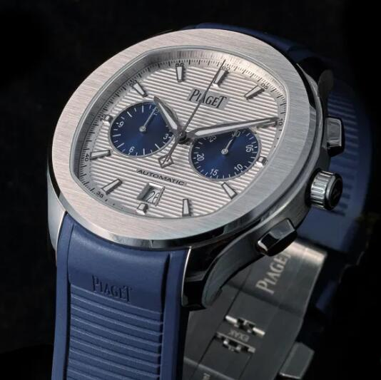 Limited Edition Replica Piaget Polo Chronograph Panda Dial Steel 42mm Watches Review 3